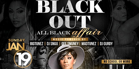 ALL BLACK AFFAIR  at Icon tickets