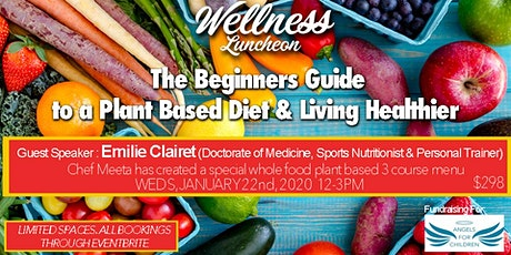 Beginners Guide To A Plant Based Diet tickets
