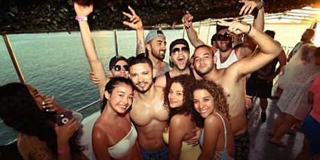 Miami Boat Party + Pre Party + Open Bar & Party bus tickets