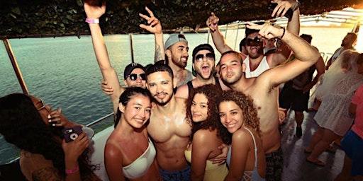Miami Boat Party + Pre Party + Open Bar & Party bus