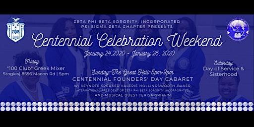 Centennial Celebration Weekend