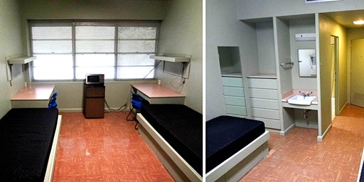 Dorm rooms for SAFDF 2020