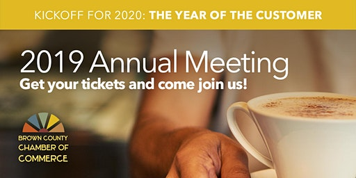 2019 Brown County Chamber of Commerce Annual Meeting