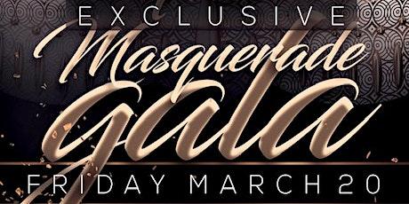The Exclusive Masquerade Gala tickets