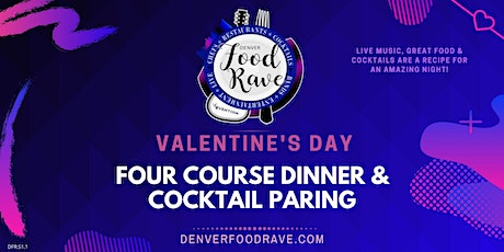 VALENTINES DAY FOUR COURSE DINNER & COCKTAIL PARING - CHEF LED tickets