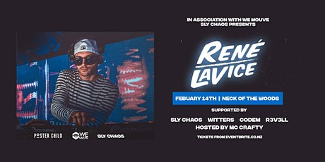 Sly Chaos Presents - Rene LaVice (UK) tickets