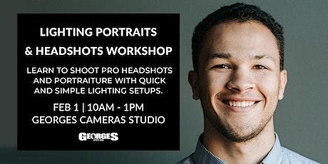 Lighting Portraits & Headshots Workshop tickets