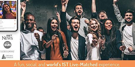World's 1st Live-Matched Singles Valentine's Games   28-43 y   Secret RSVP tickets