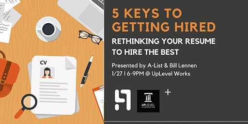 5 Keys to Getting Hired