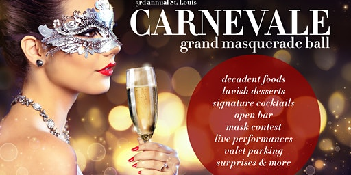 Carnevale Grand Masquerade Ball Presented by Ciao St Louis