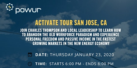 LOCAL OPPORTUNITY AND TRAINING EVENT - SAN JOSE, CALIFORNIA tickets