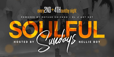 Soulful Sundays @ Refuge Live! (Every 2nd and 4th Sunday) tickets