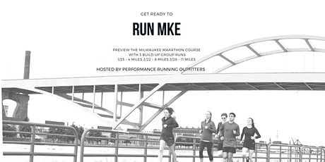 Milwaukee Marathon 11 mi Course Preview + Meet the Pace Team - 3/28 tickets