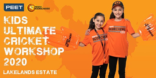 Peet & Perth Scorchers Kids Ultimate Cricket Workshop 2020 - Lakelands