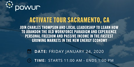 LOCAL OPPORTUNITY AND TRAINING EVENT - SACRAMENTO, CALIFORNIA tickets