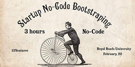 Startup No-Code Bootstrapping tickets