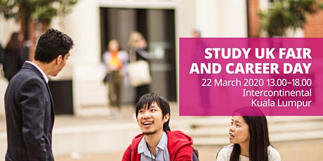 Study UK Fair and Career Day tickets