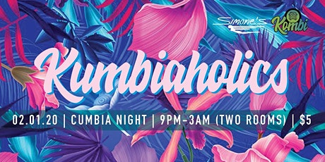 Kumbiaholics - Cumbia Night at Simone's tickets