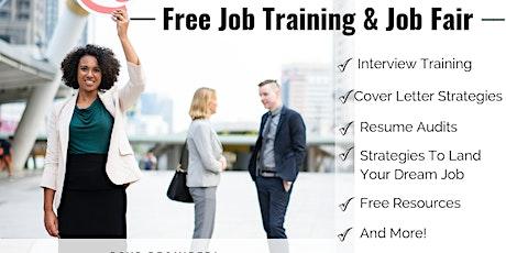 Free NY Job  Training and Job Fair! tickets