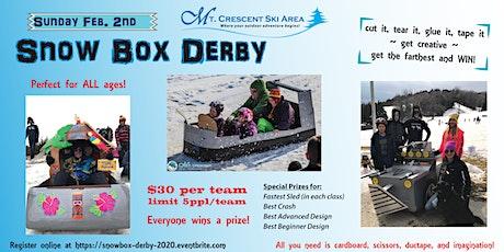 Snowbox Derby 2020 at Mt. Crescent Ski Area tickets