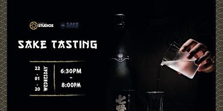 Sake Tasting tickets