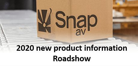 SnapAV Victoria Roadshow - There's More, Lots More! tickets