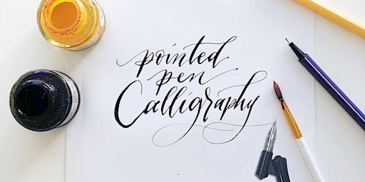 Calligraphy & Pointed Pen Lettering for Self Care + Community + Social Impact [Vancouver Art Workshop]