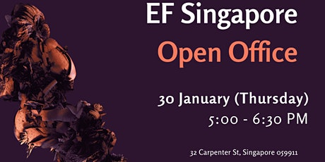 EF Singapore January 2020 Open Office tickets