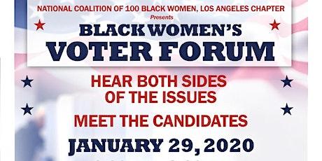 Black Women's Voter Forum 2020 tickets