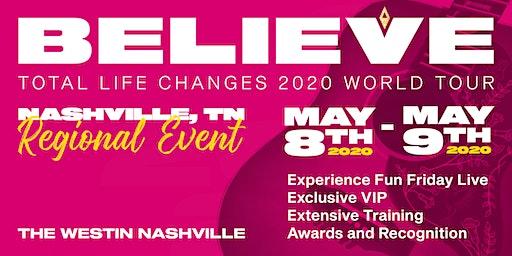 TLC's 2020 Believe Tour Nashville