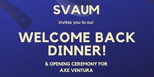 SVAUM's Welcome Back Dinner