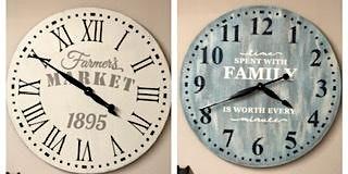 "24"" Wood Clock Workshop"