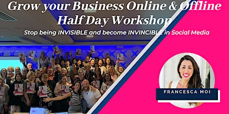 Social Media Half Day Workshop: Become an Expert, go from Invisible to Invincible - Sydney! tickets