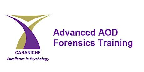 Advanced AOD Training (1 day) - Lynbrook tickets