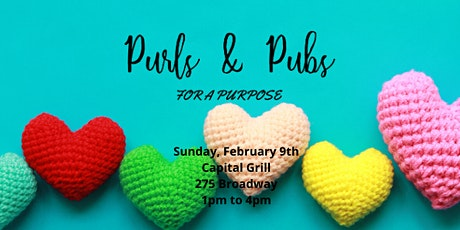 Purls & Pubs - February 9, 2020 tickets