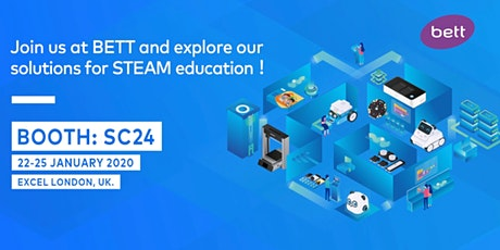 """One-stop-shop"" for STEAM solutions ——Makeblock in BETT 2020 tickets"