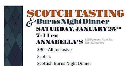 REF Scotch Tasting & Burns Night Dinner tickets