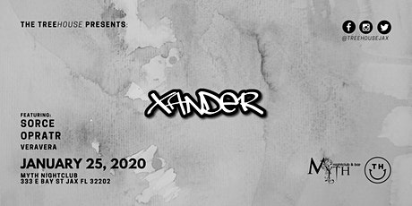 The TreeHOUSE Presents: Xander at Myth | 01.25.20 tickets