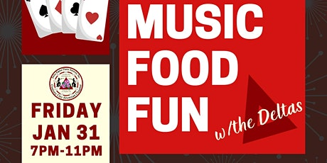 Music Food & Fun w/the Deltas tickets