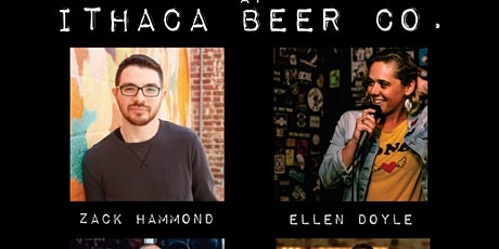 Homebrewed Comedy at Ithaca Beer Co. tickets