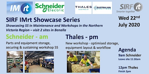 VICTAS IMRt SIRF Showcase Series - 5S in Maintenance and Workshops - Schneider Electric Benalla & Thales Benalla
