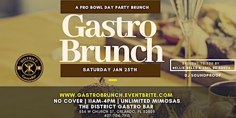 Gastro Brunch  Pro -Bowl tickets