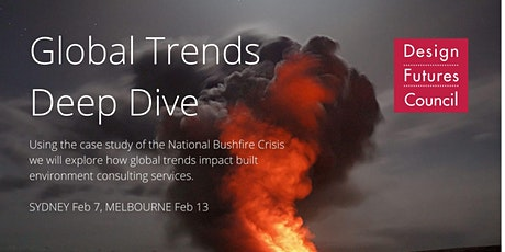 Action Forum: Deep Dive into Global Trends - Climate Change- Sydney  tickets
