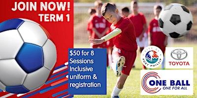 One Ball Soccer Wellbeing Program 2020 - Registration Term 1 V2