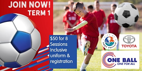 One Ball Soccer Wellbeing Program 2020 - Registration Term 1 V2 tickets