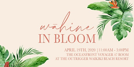 Wāhine in Bloom tickets
