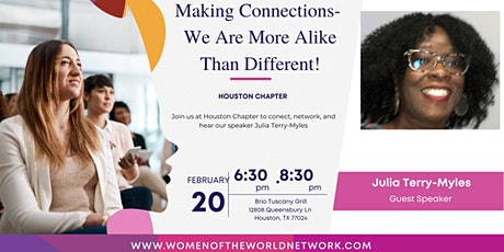 Women of the World Network Houston, TX: Making Connections tickets