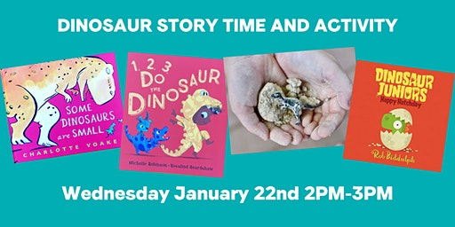 Dinosaur Storytime and Activity