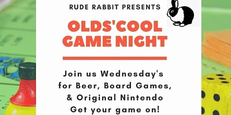 Olds'Cool Game Night tickets