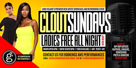 Clout Sundays: New Artist Showcase and Networking Event tickets